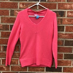 Lilly Pulitzer cashmere V-neck sweater